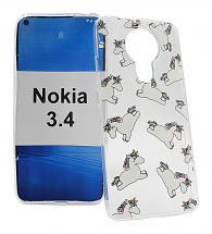 billigamobilskydd.se TPU-Designkotelo Nokia 3.4