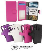 billigamobilskydd.se Skimblocker Magneettikotelo Samsung Galaxy A40 (A405FN/DS)