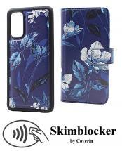 CoverIn Skimblocker Design Magneettilompakko Samsung Galaxy S20 (G980F)