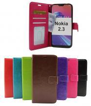 billigamobilskydd.se Crazy Horse Lompakko Nokia 2.3