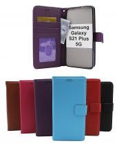 billigamobilskydd.se New Jalusta Lompakkokotelo Samsung Galaxy S21 Plus 5G (G996B)