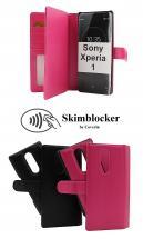 CoverIn Skimblocker XL Magnet Wallet Sony Xperia 1 (J9110)