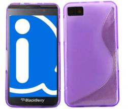 billigamobilskydd.se S-Line TPU-muovikotelo Blackberry Z10