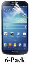 billigamobilskydd.se Kuuden kappaleen näytönsuojakalvopakett Samsung Galaxy S4