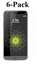 billigamobilskydd.se Kuuden kappaleen näytönsuojakalvopakett LG G5 / G5 SE (H850 / H840)