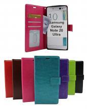 billigamobilskydd.se Crazy Horse Lompakko Samsung Galaxy Note 20 Ultra 5G (N986B/DS)