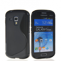 billigamobilskydd.se S-Line TPU-muovikotelo Samsung Galaxy Trend Plus (S7580)