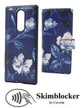 CoverIn Skimblocker Design Magneettilompakko Sony Xperia 1 (J9110)