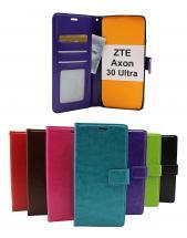 billigamobilskydd.se Crazy Horse Lompakko ZTE Axon 30 Ultra 5G