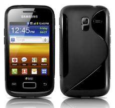 billigamobilskydd.se S-Line TPU-muovikotelo Samsung Galaxy Ace 2 (i8160)