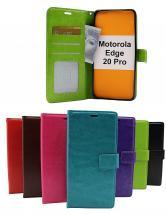 billigamobilskydd.se Crazy Horse Lompakko Motorola Edge 20 Pro