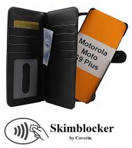 CoverIn Skimblocker XL Magnet Wallet Motorola Moto G9 Plus