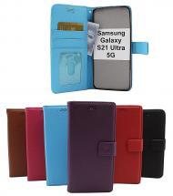 billigamobilskydd.se New Jalusta Lompakkokotelo Samsung Galaxy S21 Ultra 5G (G998B)