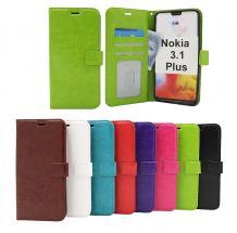 billigamobilskydd.se Crazy Horse Lompakko Nokia 3.1 Plus