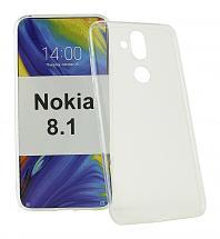 billigamobilskydd.se Ultra Thin TPU Kotelo Nokia 8.1