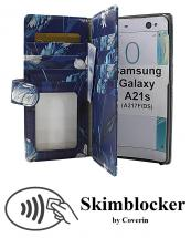CoverIn Skimblocker XL Designwallet Samsung Galaxy A21s (A217F/DS)