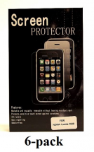 billigamobilskydd.se Kuuden kappaleen näytönsuojakalvopakett Nokia Lumia 1020