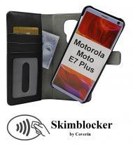 CoverIn Skimblocker Magneettikotelo Motorola Moto E7 Plus (XT2081-2)