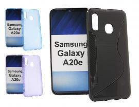 billigamobilskydd.se S-Line TPU-muovikotelo Samsung Galaxy A20e (A202F/DS)