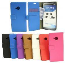 billigamobilskydd.se Jalusta Lompakkokotelo HTC U11 Life