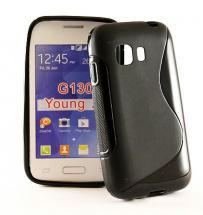billigamobilskydd.se S-Line TPU-muovikotelo Samsung Galaxy Young 2 (SM-G130H)