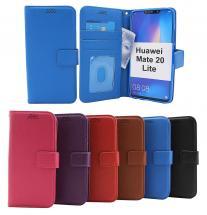 billigamobilskydd.se New Jalusta Lompakkokotelo Huawei Mate 20 Lite (SNE-LX1)