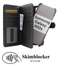 CoverIn Skimblocker XL Magnet Wallet Samsung Galaxy A02s