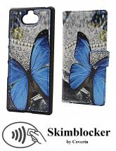 CoverIn Skimblocker Design Magneettilompakko Sony Xperia 10