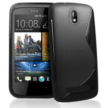 billigamobilskydd.se S-Line TPU-muovikotelo HTC Desire 500