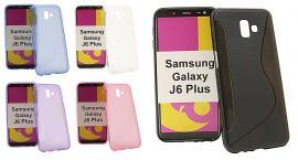 billigamobilskydd.se S-Line TPU-muovikotelo Samsung Galaxy J6 Plus (J610FN/DS)