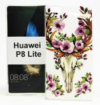 billigamobilskydd.se TPU-Designkotelo Huawei P8 Lite