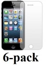 billigamobilskydd.se Kuuden kappaleen näytönsuojakalvopakett iPhone 5/5s/SE