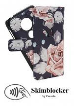 billigamobilskydd.se Skimblocker Design Magneettilompakko Moto E5 Play / E5 Play Go (XT1920-16)