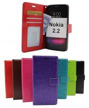 billigamobilskydd.se Crazy Horse Lompakko Nokia 2.2