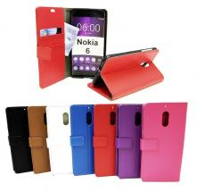 billigamobilskydd.se Jalusta Lompakkokotelo Nokia 6