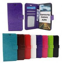 billigamobilskydd.se Crazy Horse Lompakko Samsung Galaxy A20e (A202F/DS)