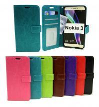 billigamobilskydd.se Crazy Horse Lompakko Nokia 3
