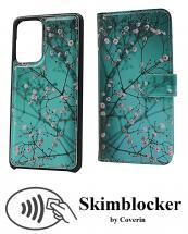 CoverIn Skimblocker Design Magneettilompakko Samsung Galaxy A52 / A52 5G / A52s 5G