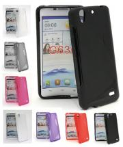 billigamobilskydd.se S-Line TPU-muovikotelo Huawei Ascend G630