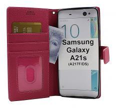 billigamobilskydd.se New Jalusta Lompakkokotelo Samsung Galaxy A21s (A217F/DS)