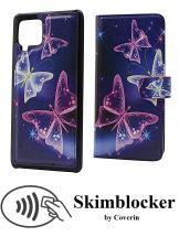 CoverIn Skimblocker Design Magneettilompakko Samsung Galaxy A42 5G