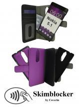 CoverIn Skimblocker Magneettikotelo Nokia 5.1