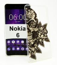 billigamobilskydd.se TPU-Designkotelo Nokia 6