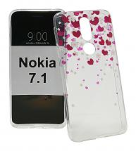 billigamobilskydd.se TPU-Designkotelo Nokia 7.1