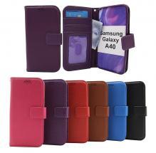 billigamobilskydd.se New Jalusta Lompakkokotelo Samsung Galaxy A40 (A405FN/DS)