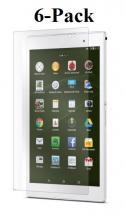billigamobilskydd.se Kuuden kappaleen näytönsuojakalvopakett Sony Xperia Tablet Z3 Compact (SGP611)