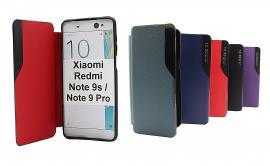 billigamobilskydd.se Smart Flip Cover Xiaomi Redmi Note 9s / Note 9 Pro