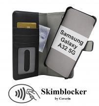 CoverIn Skimblocker Magneettikotelo Samsung Galaxy A32 5G (A326B)