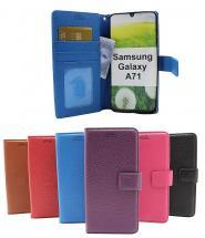billigamobilskydd.se New Jalusta Lompakkokotelo Samsung Galaxy A71 (A715F/DS)