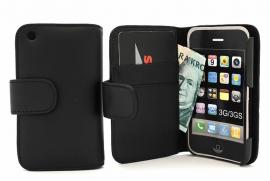 CoverIn Lompakkokotelot iPhone 3 (svart)